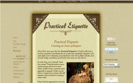 Practical Etiquette