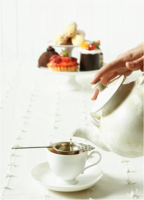 tea party etiquette, dinner etiquette