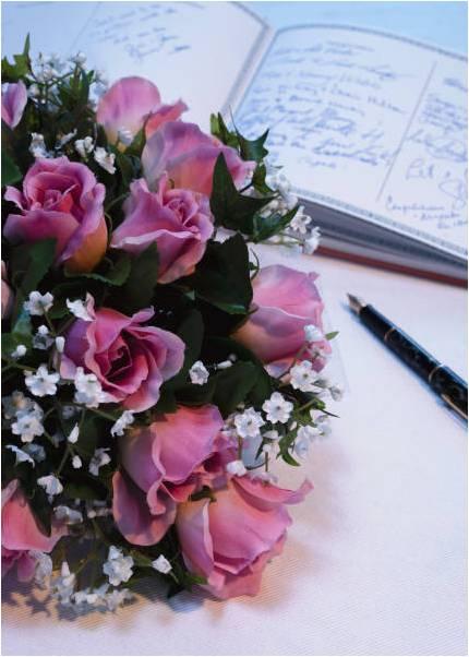 wedding flower etiquette, wedding etiquette